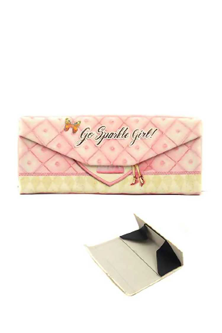 Go Sparkle Girl Convertible Glasses Case