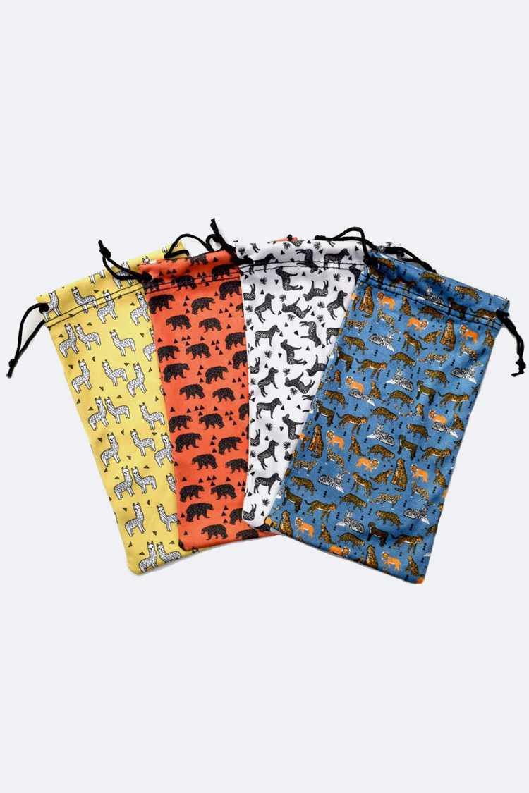 Animal Print Sunglasses Pouch Package
