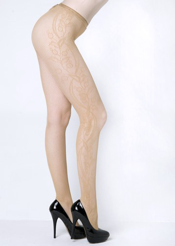 Rosa Designed Fishnet Tights