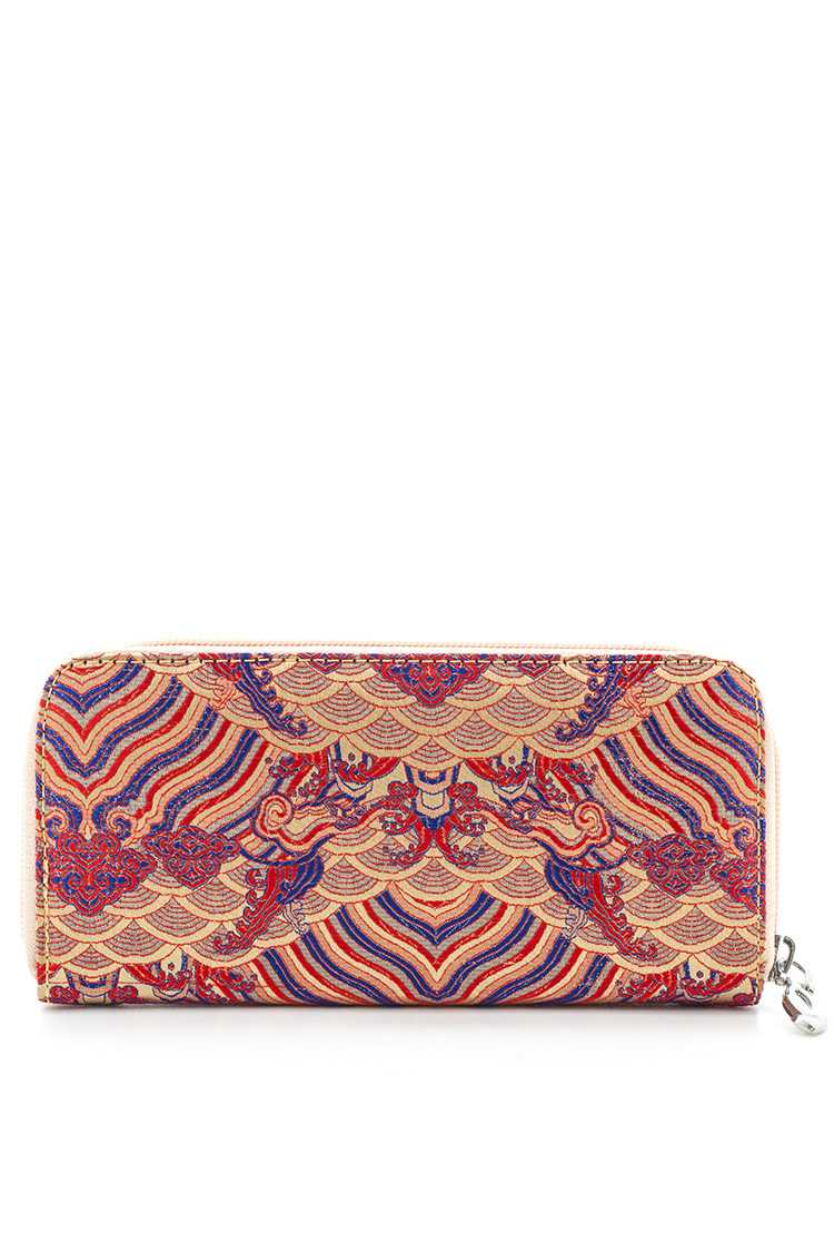 WICKED WAVE Brocade Wallet