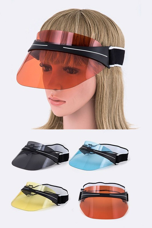 Color Tinted Visor