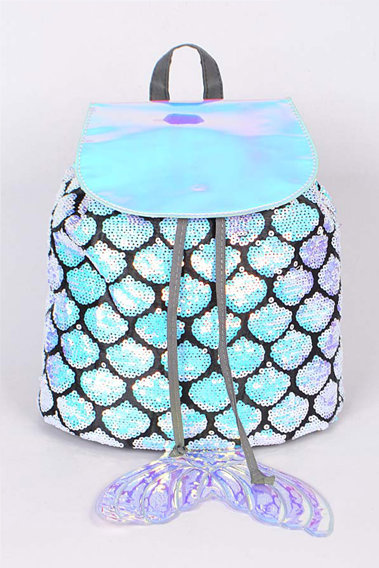 Sequins Iconic Mermaid Backpack