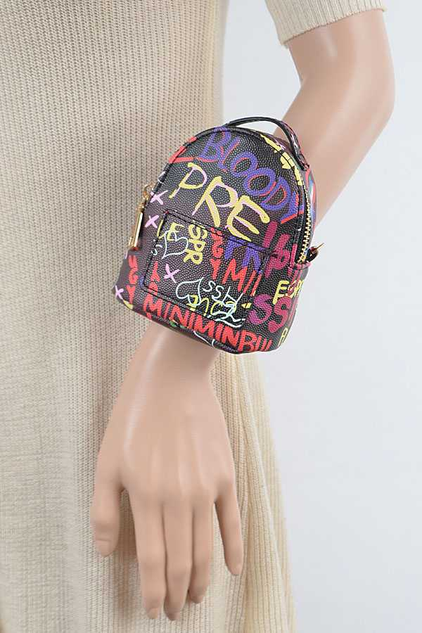 Graffiti Convertible Mini Arm Bag