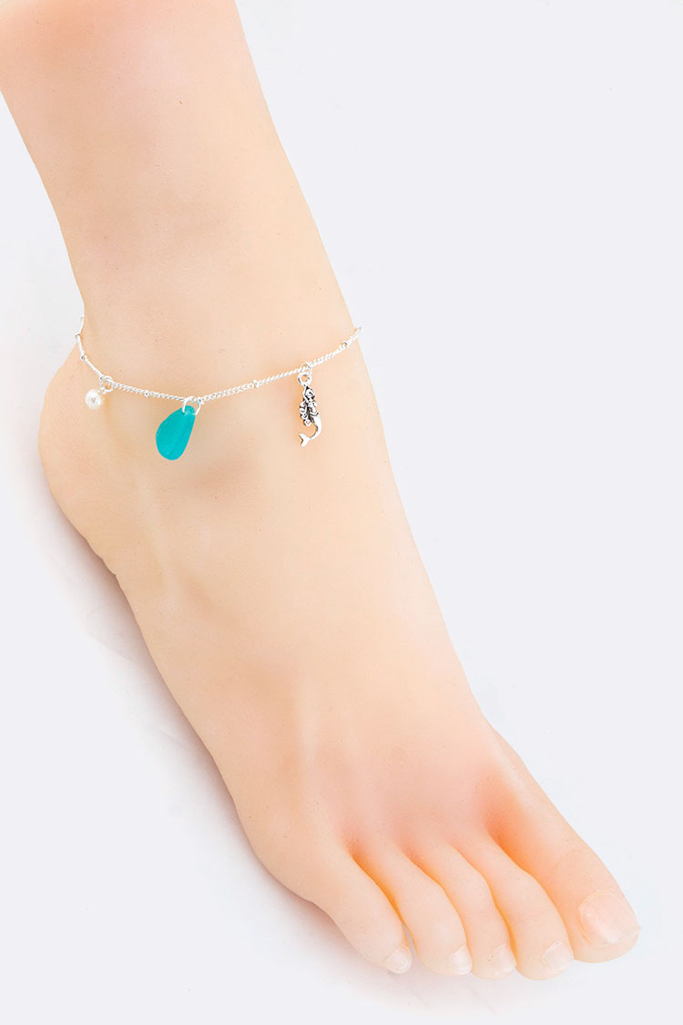 Mermaid Mix Charms Anklet