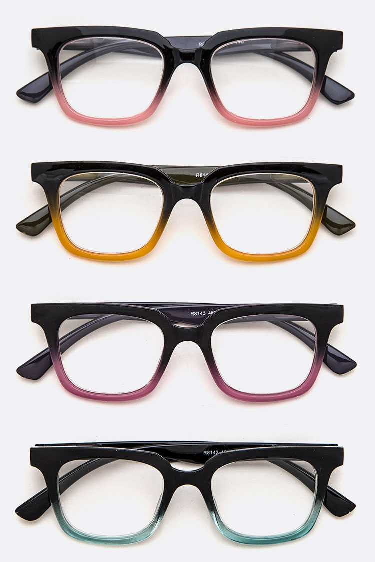 2 Tone Fashion Reading Glasses