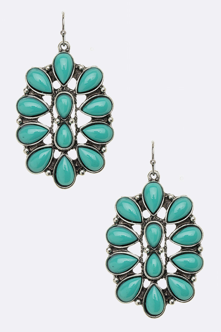 Stone Pave Iconic Earrings