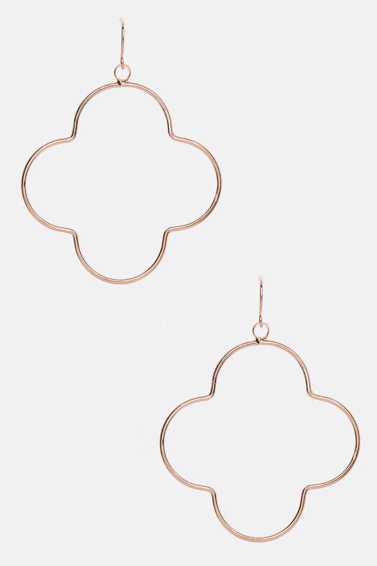 Wired Clover Iconic Earrings