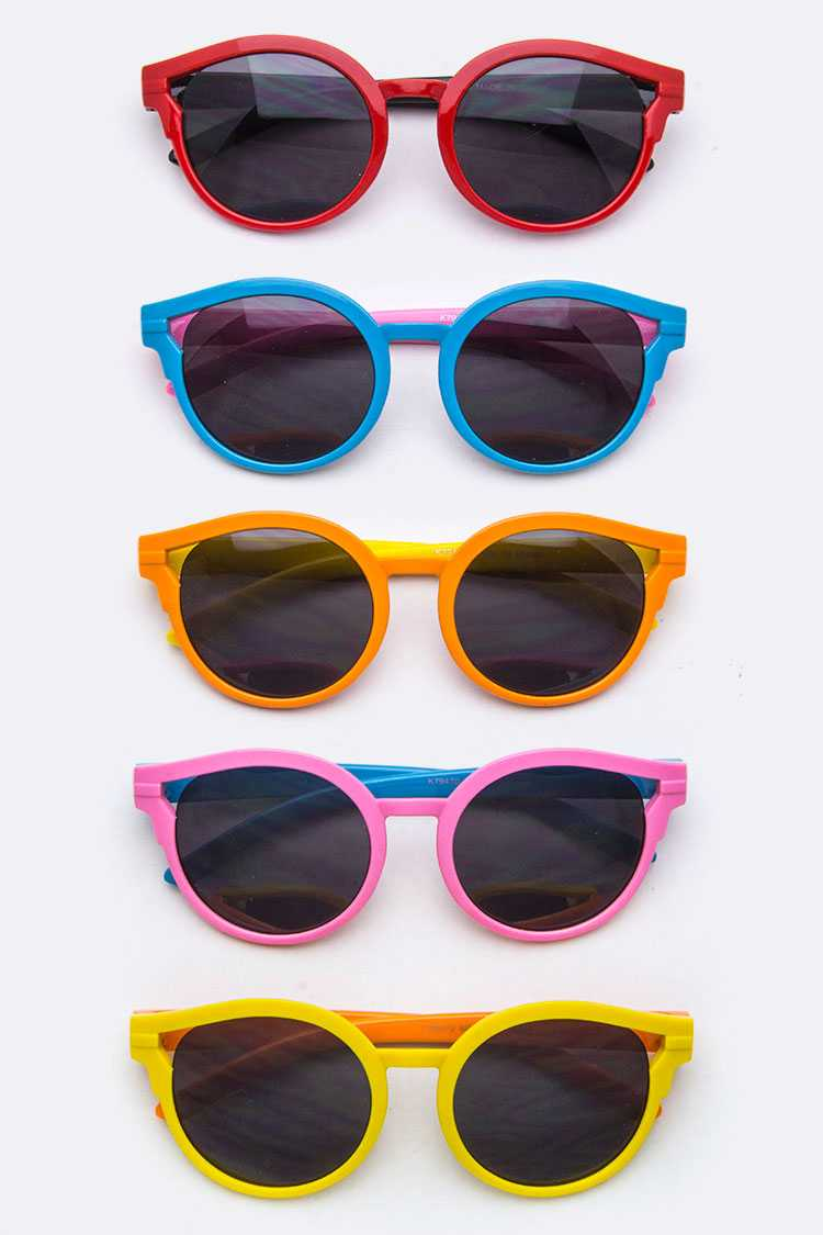 Kids Size 2 Tone Sunglasses