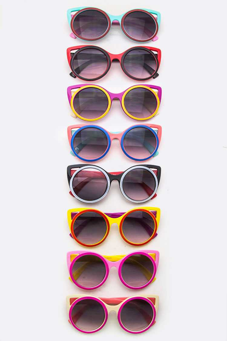 Iconic Cat Eye Kid's Sunglasses