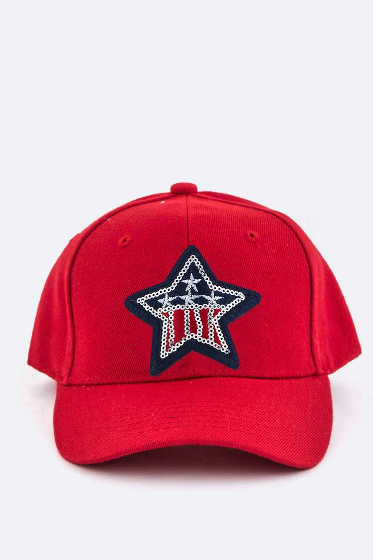 US Star Embroidery Cap