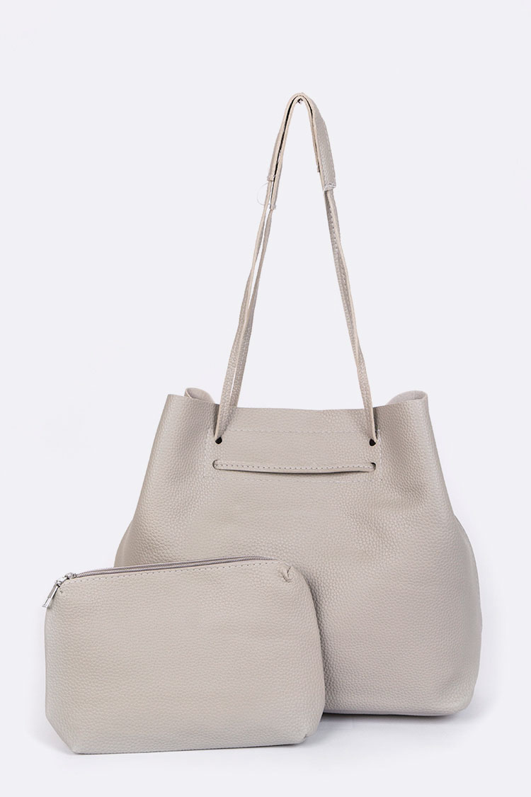 Classic Large Pouch & Tote Set