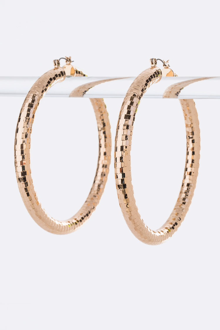 80MM Extra Large Iconic Hoops