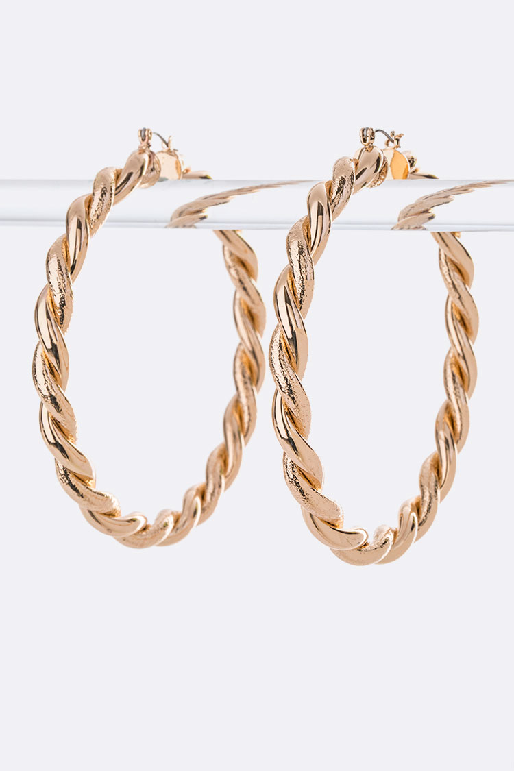 80MM Large Iconic Hoops