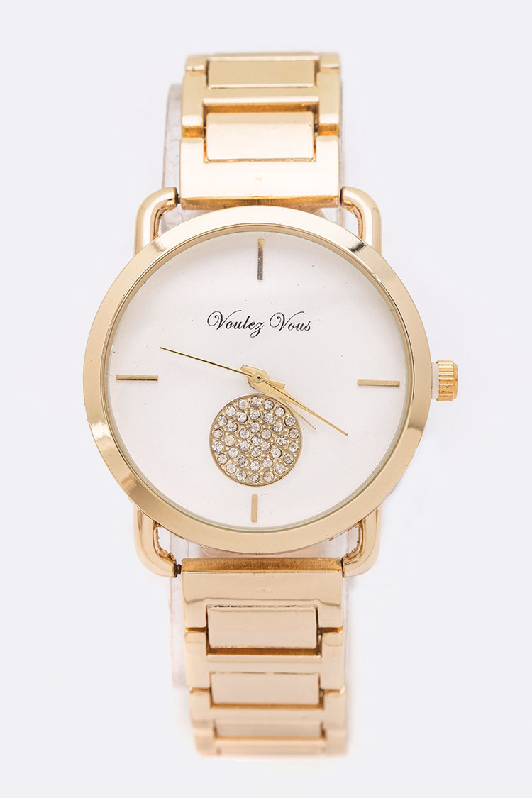 Crystal Dot Iconic Fashion Watch