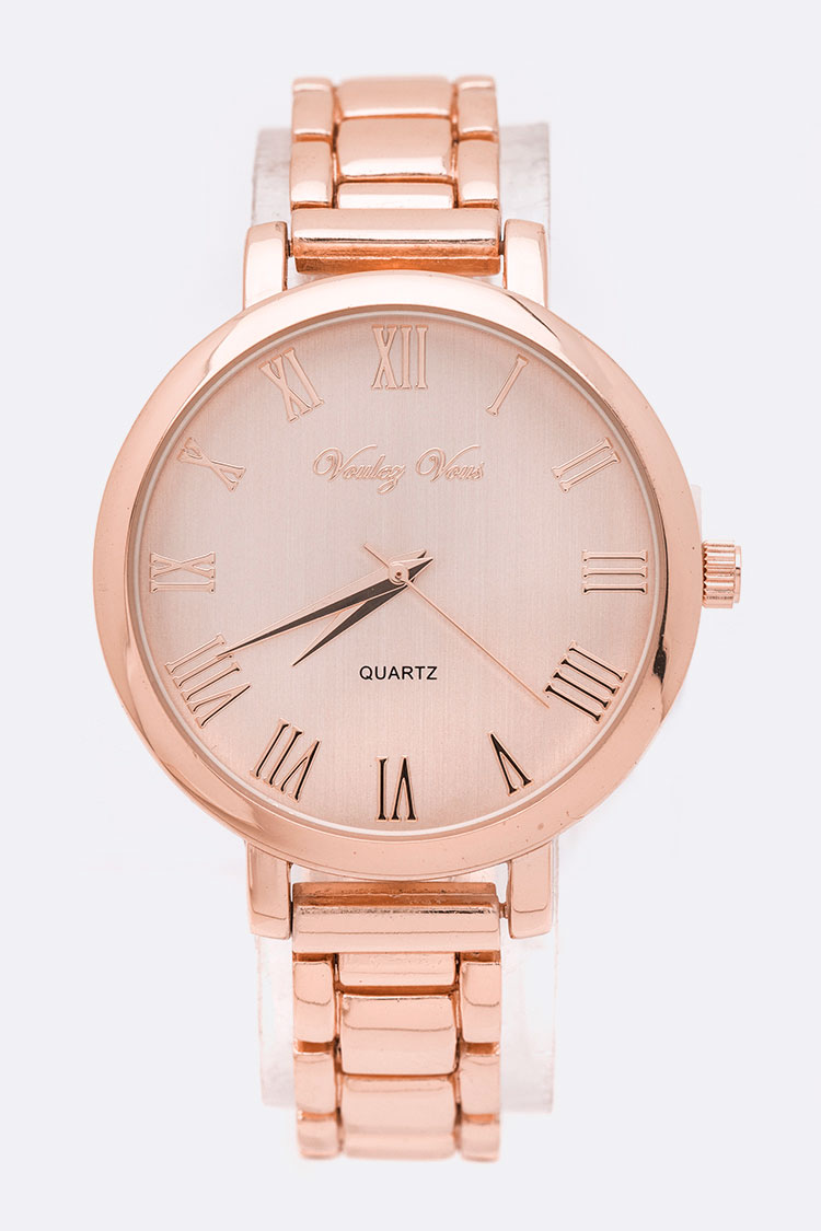 Roman Number Dial Classic Watch