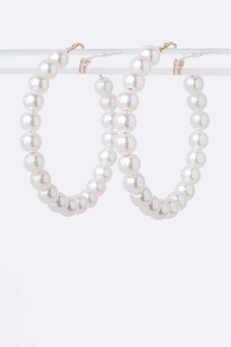 Pearl Strand Iconic Hoop Earrings