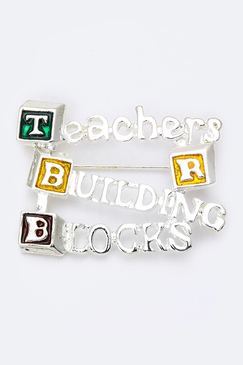 Teachers Appreciation Brooch