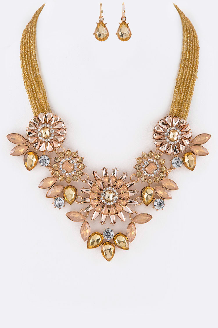 Crystal Iconic Necklace Set