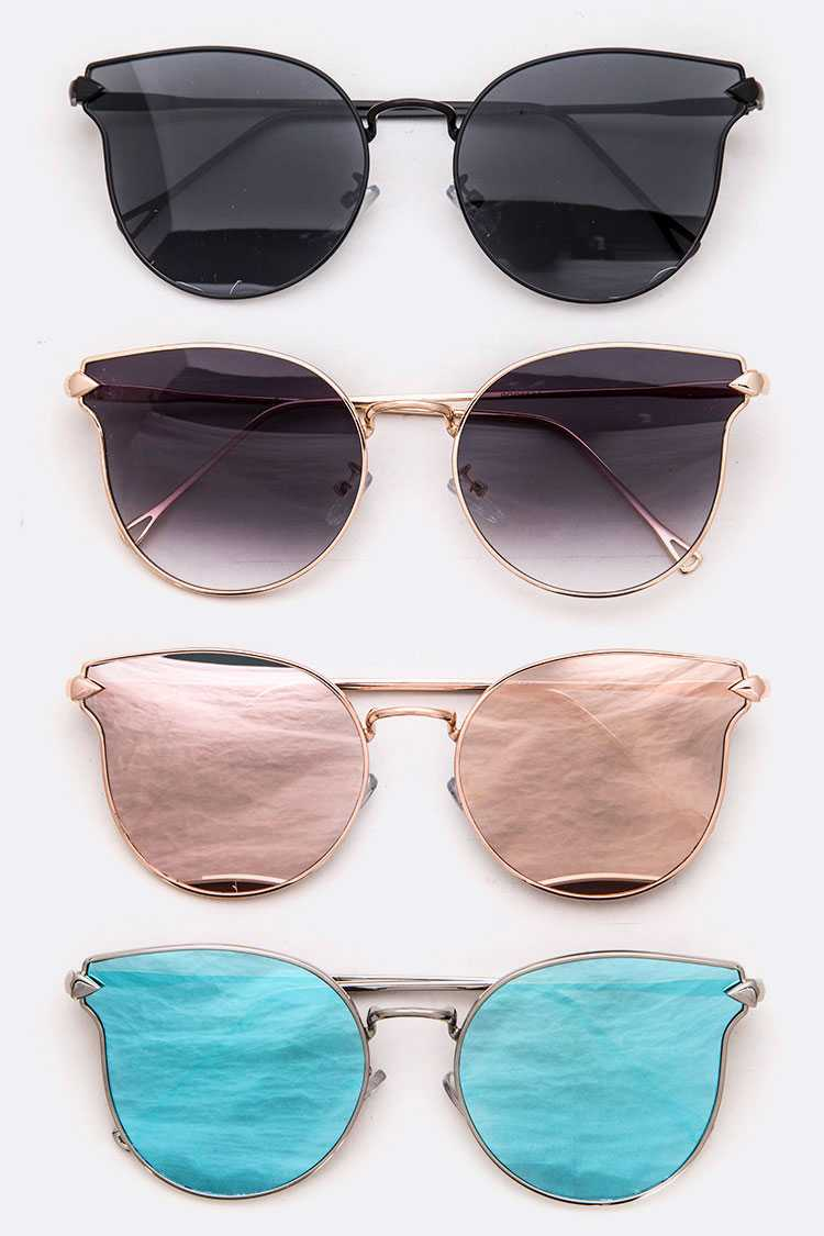 Iconic Mix Tint Cat Eye Sunglasses