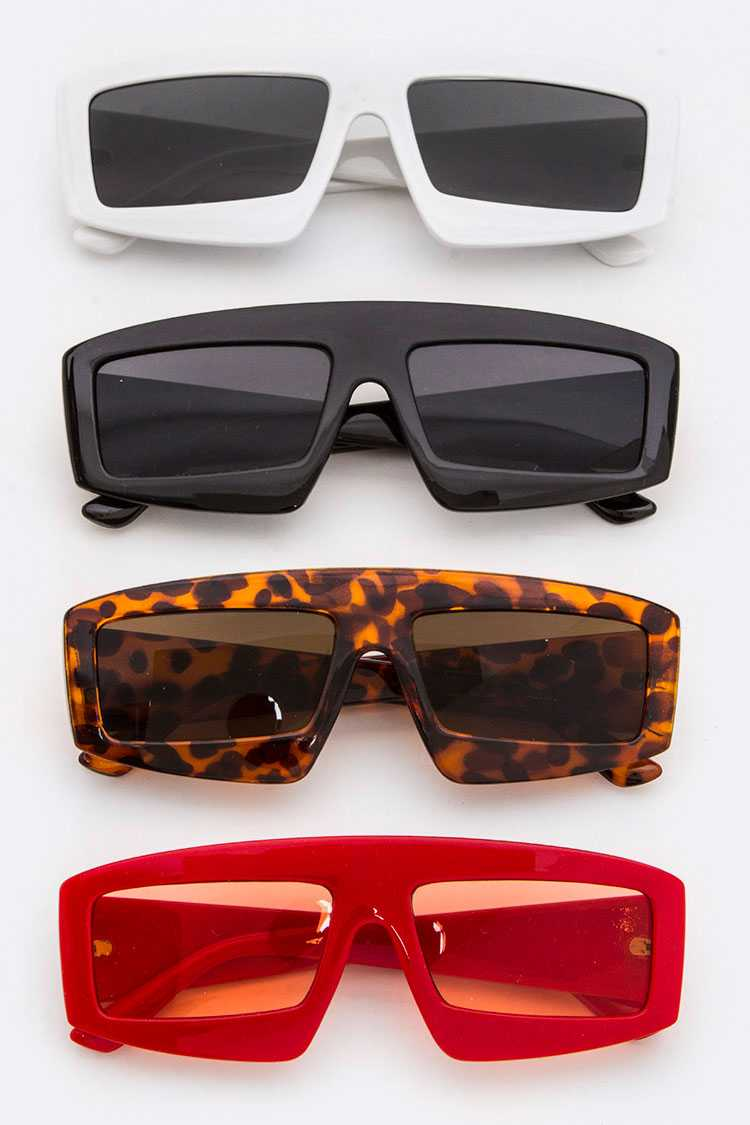 Gamer Square Lenses Iconic Sunglasses