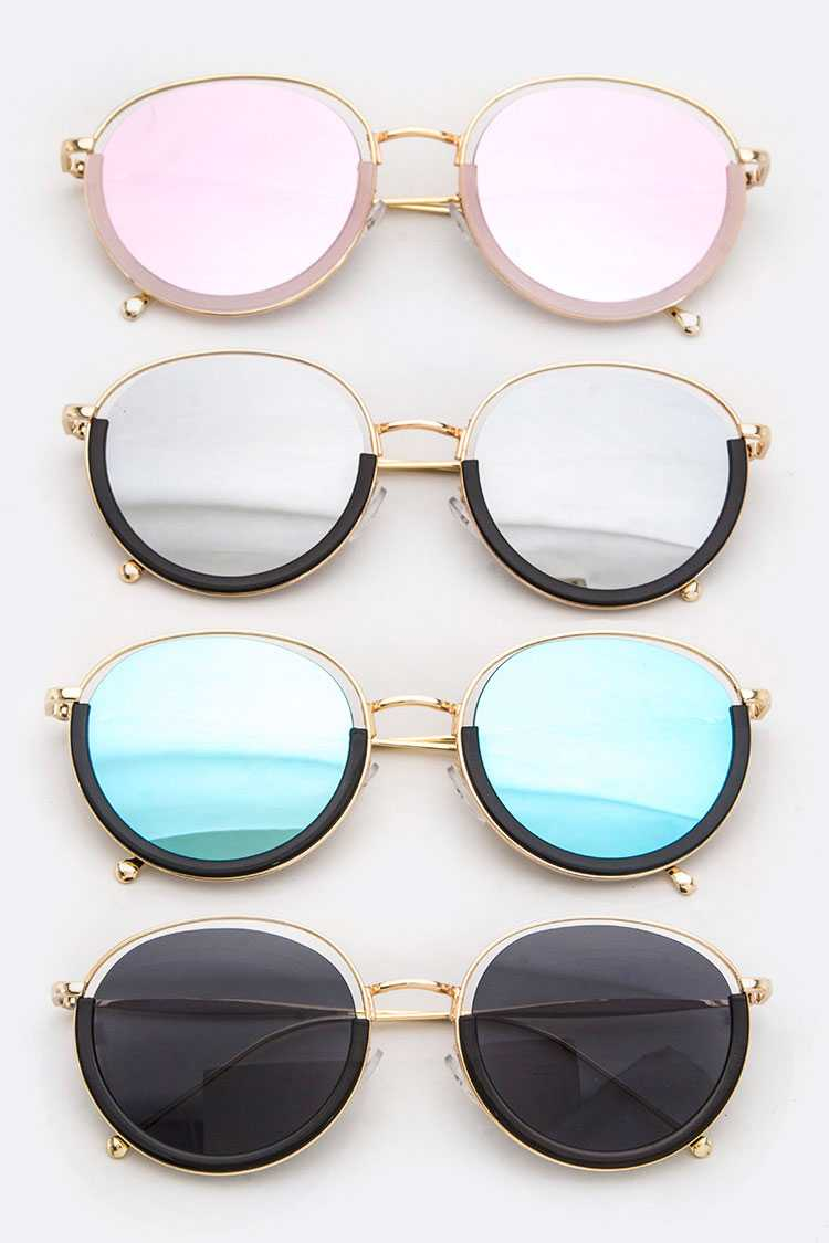 Iconic Semi Framed Sunny Sunglasses