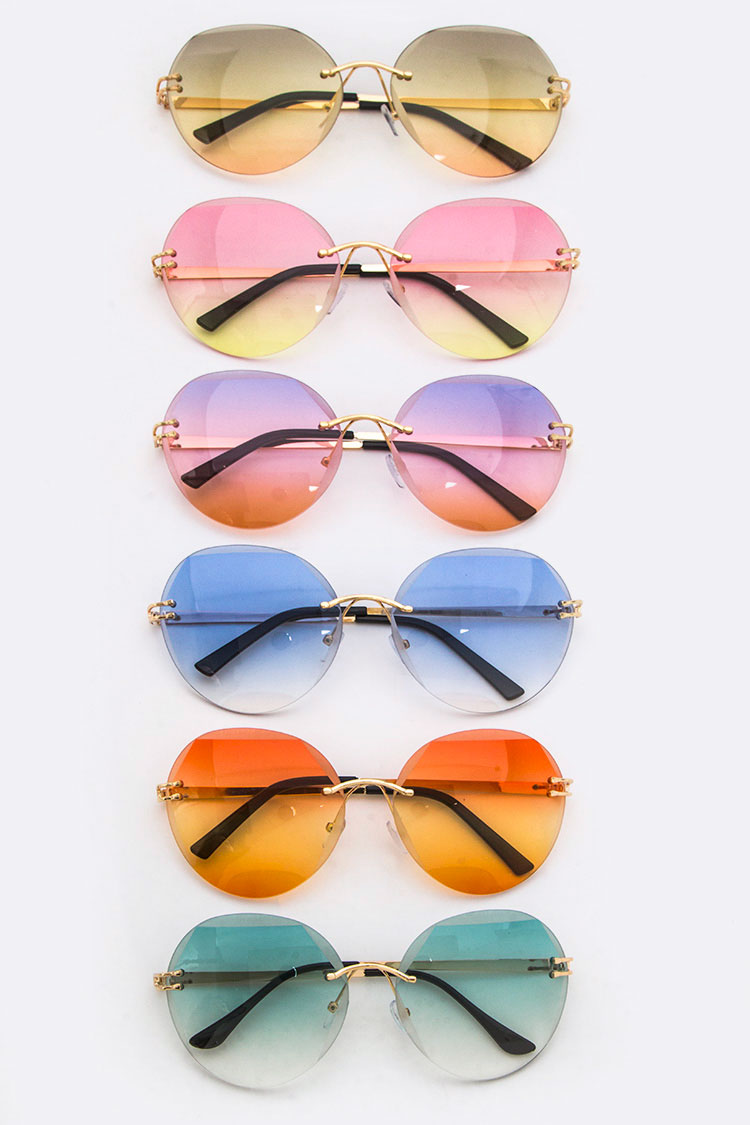 Ocean Lenses Mix Tone Sunglasses