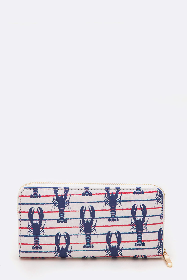 Lobster Nautical Iconic Wallet