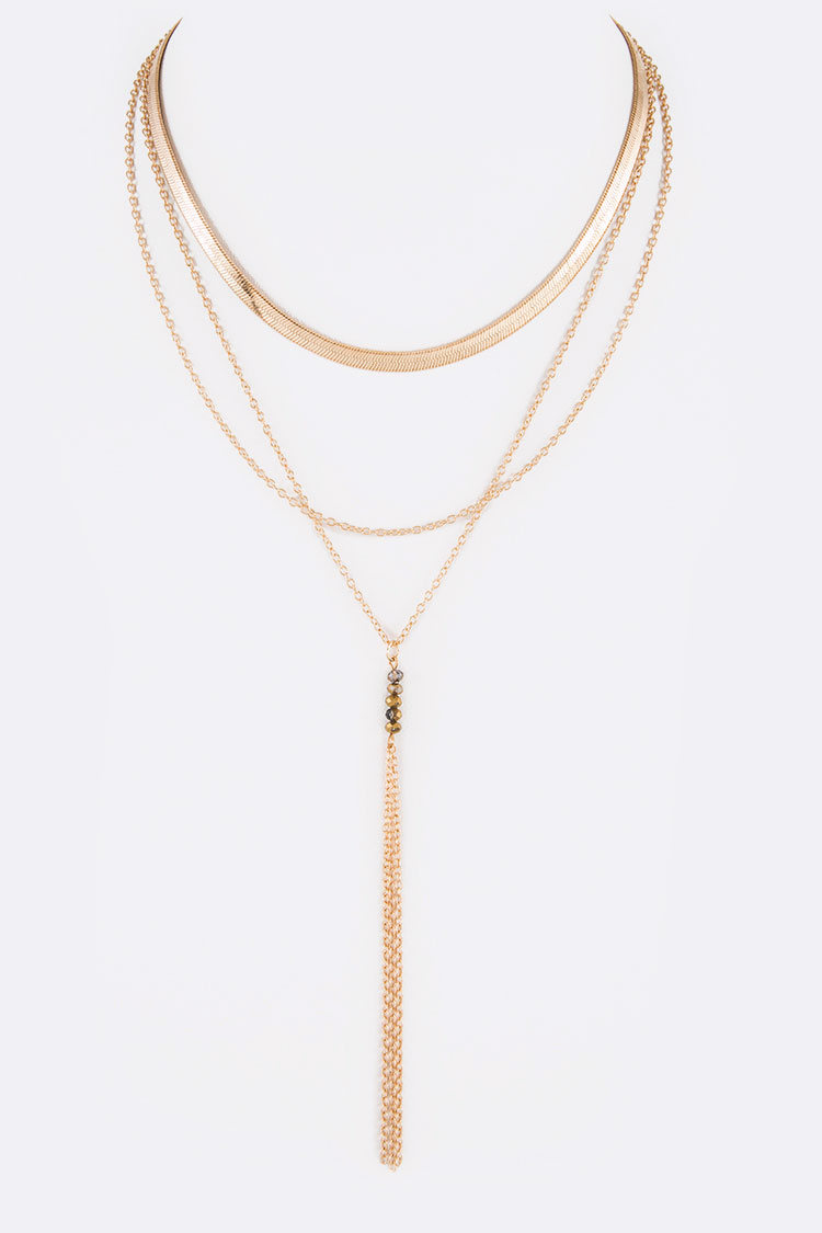 Mix Chain Iconic Layered Necklace