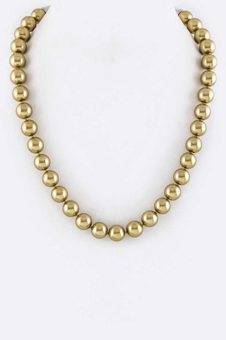 12mm Pearl Necklace