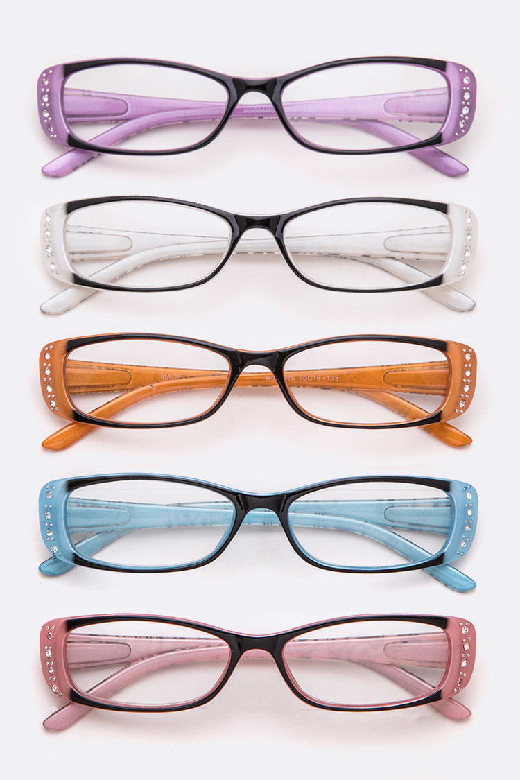 Crystal Accent Reading Glasses