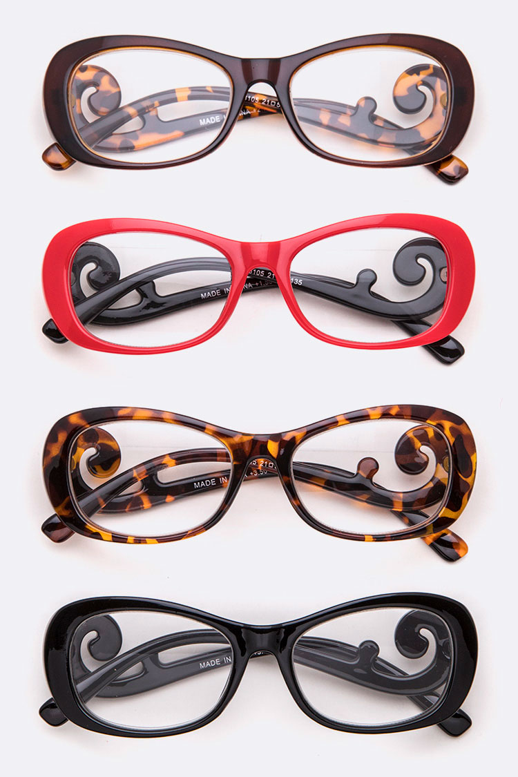 Iconic Swirly Reading Glasses