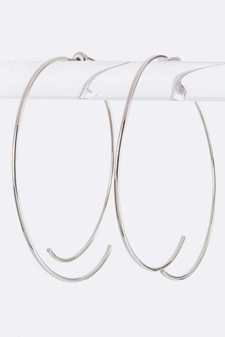 Iconic Front & Back Hoops