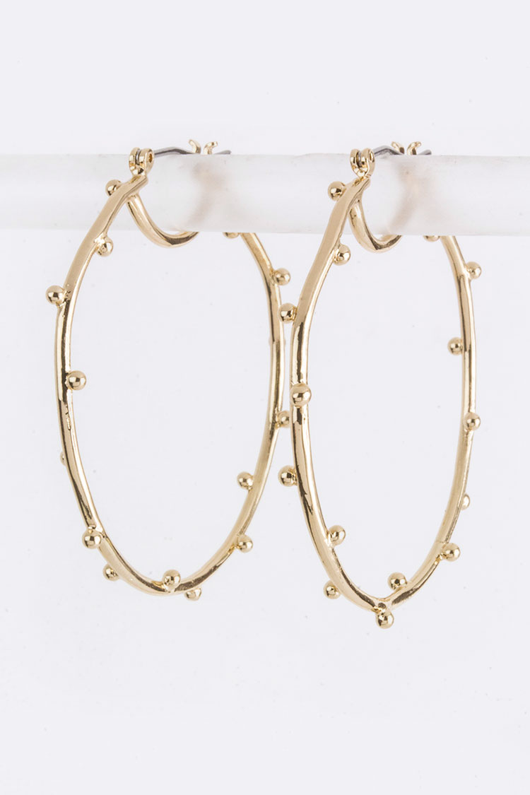 Dotted Iconic Hoops