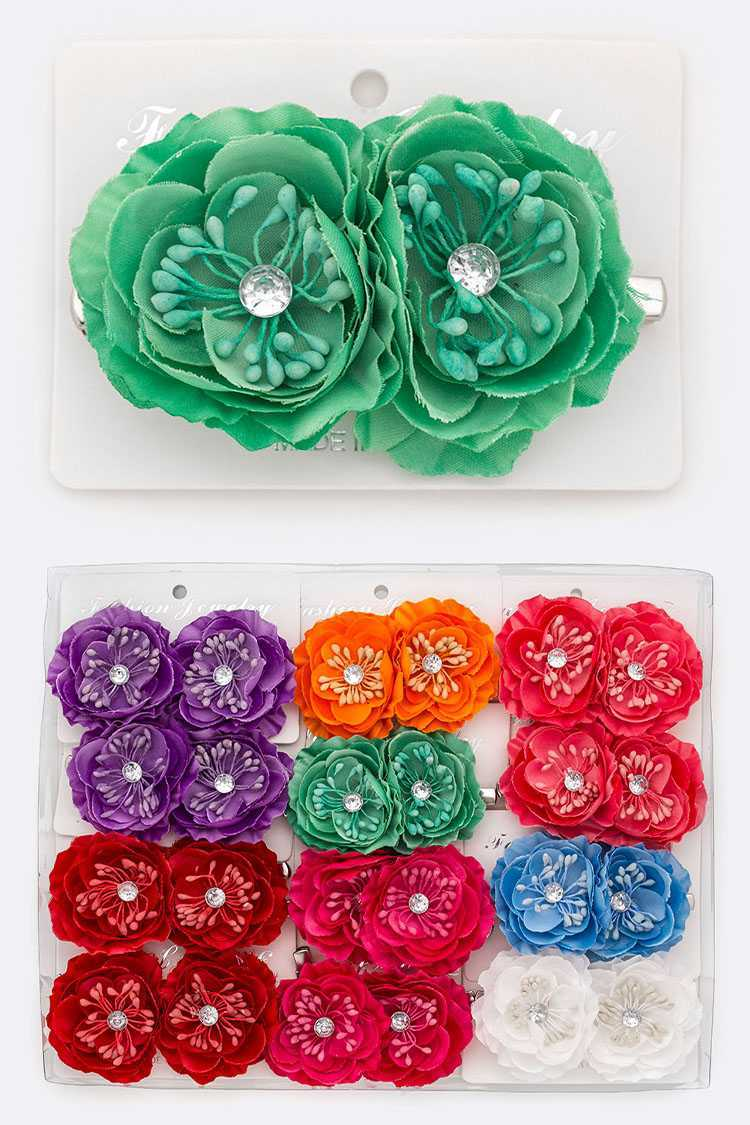 FLower Hair Clip Sets