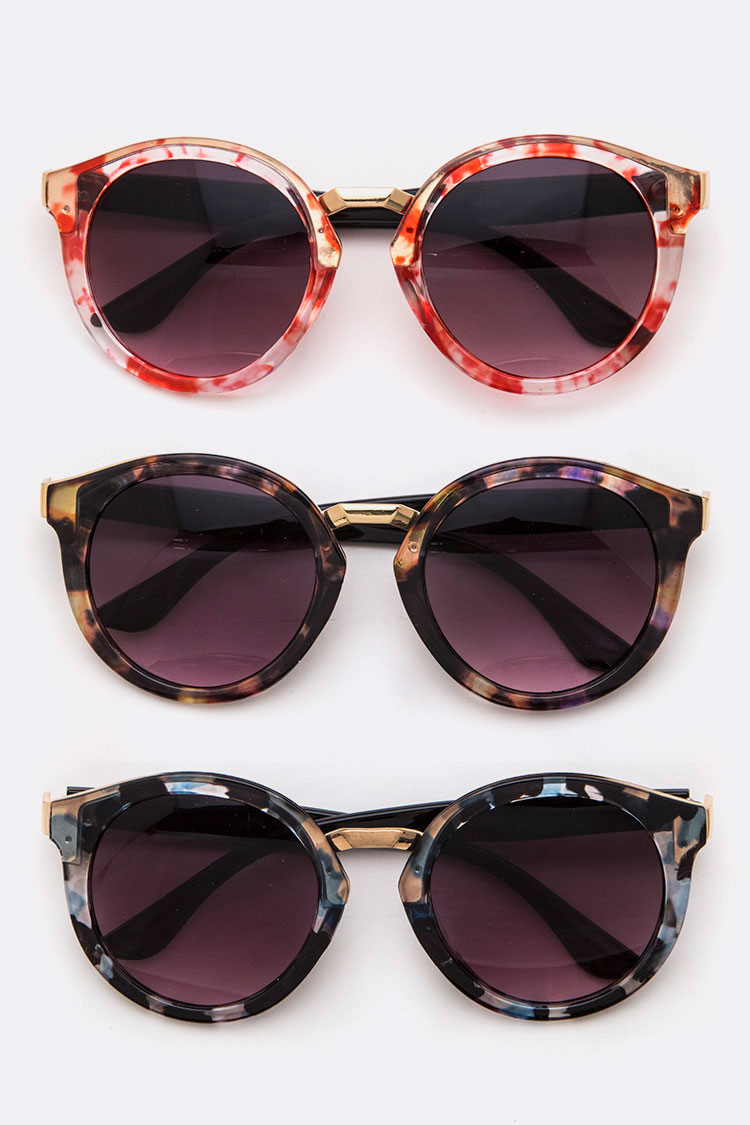 Celluloid Acetate Iconic Sunglasses