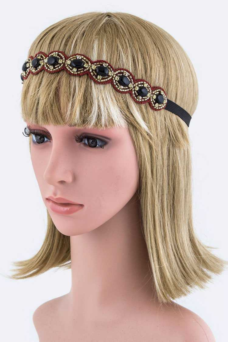 Beads & Stones Stretch Headband