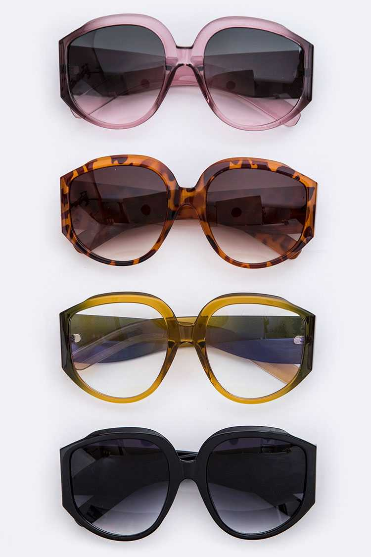 80's Iconic Oversize Sunglasses
