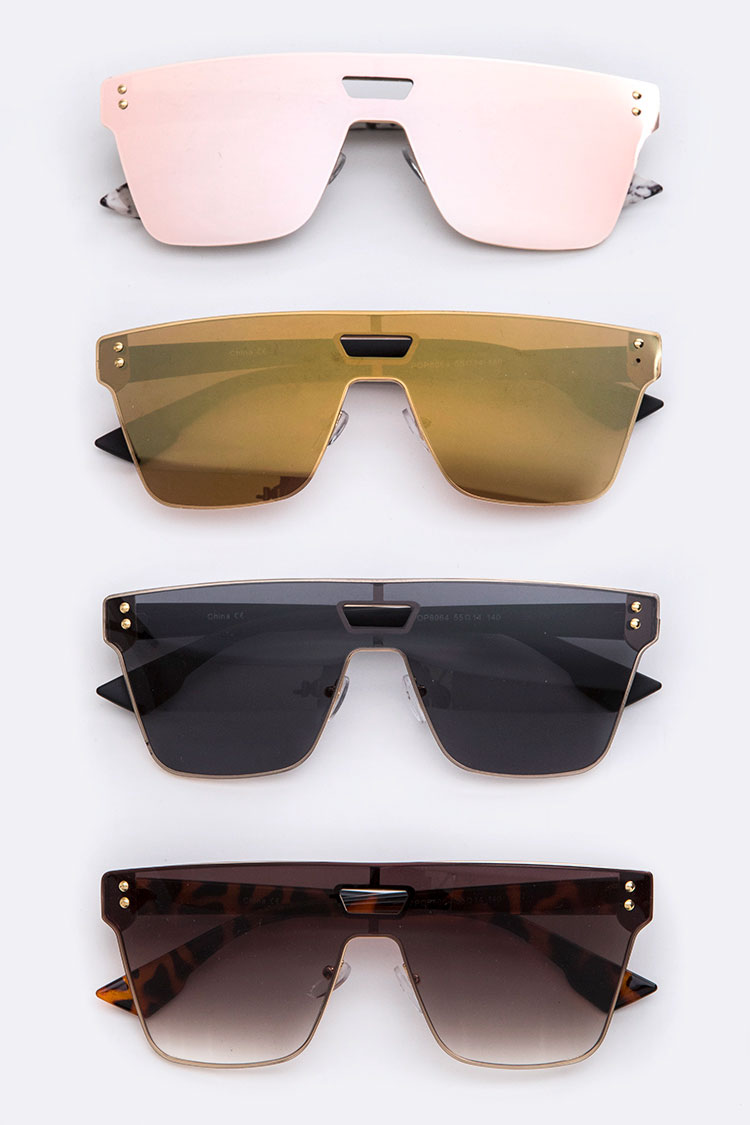 Unibrow Square Sunglasses