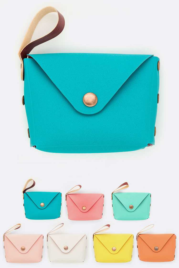 Assorted Color Mini Pouches