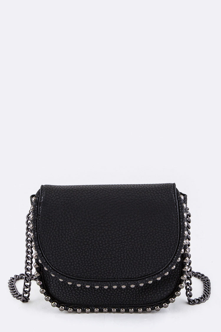 Ball Chaind Crossbody Bag