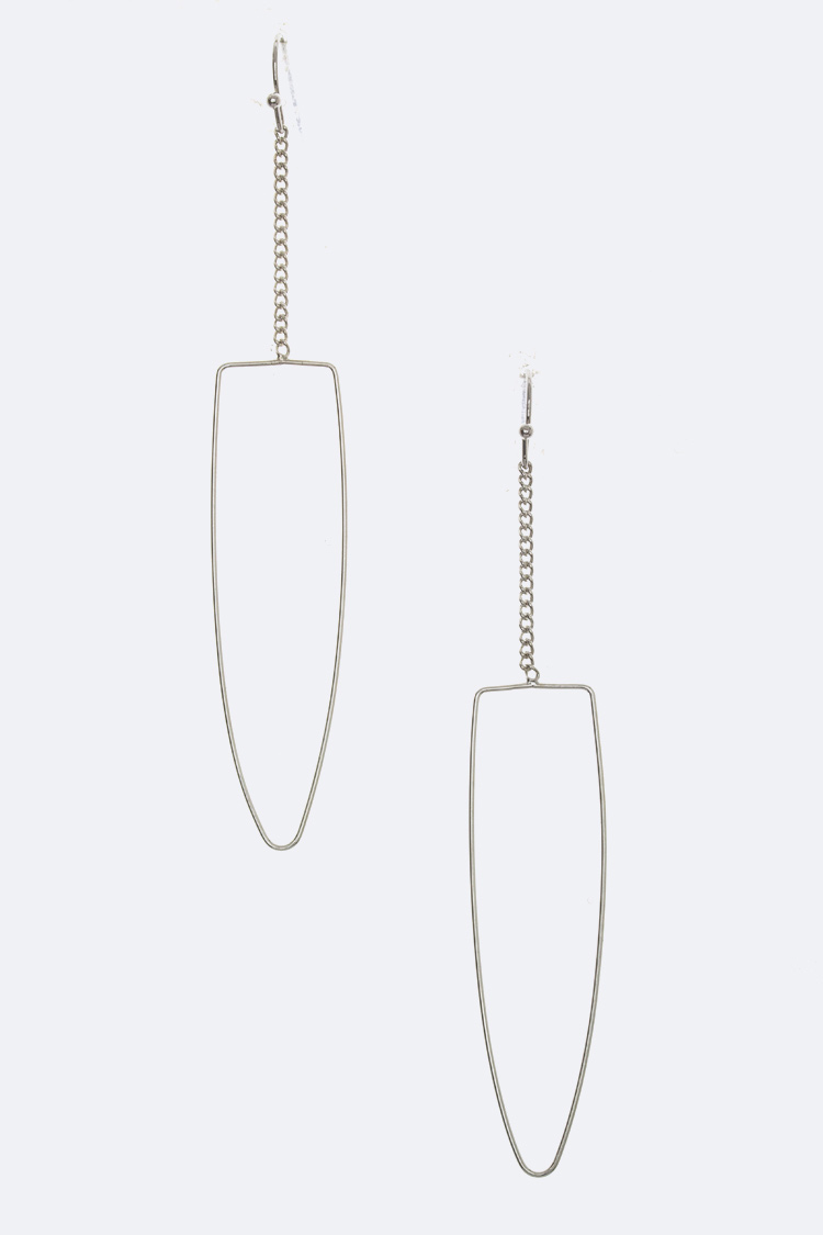 Dangle Arrow Earrings