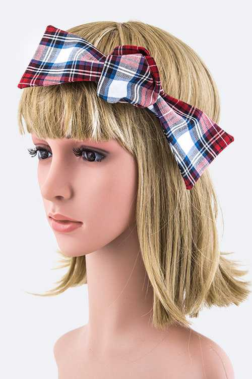 Self Tie Convertible Bow Tie Headband