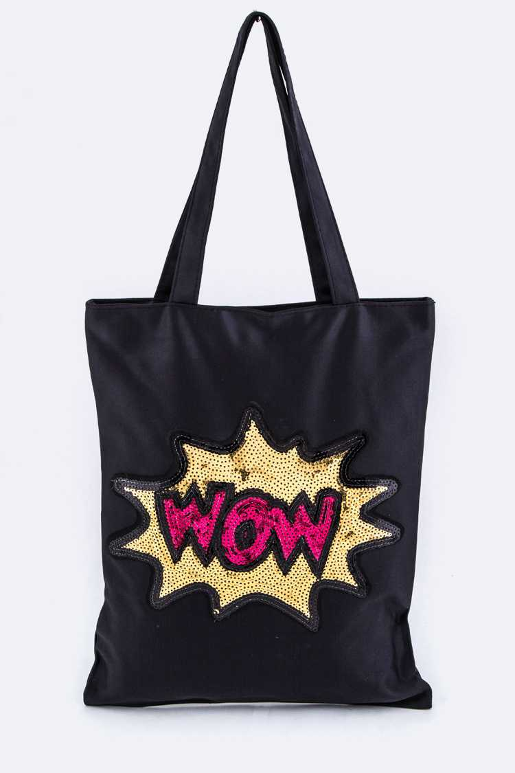 Sequins WOW Fashion Tote