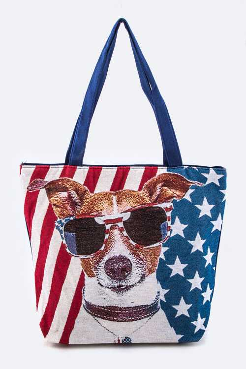 American Beagle Fashion Tote