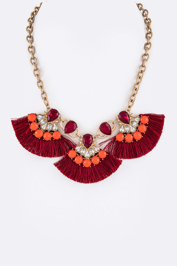 Fringe Tassel Iconic Necklace