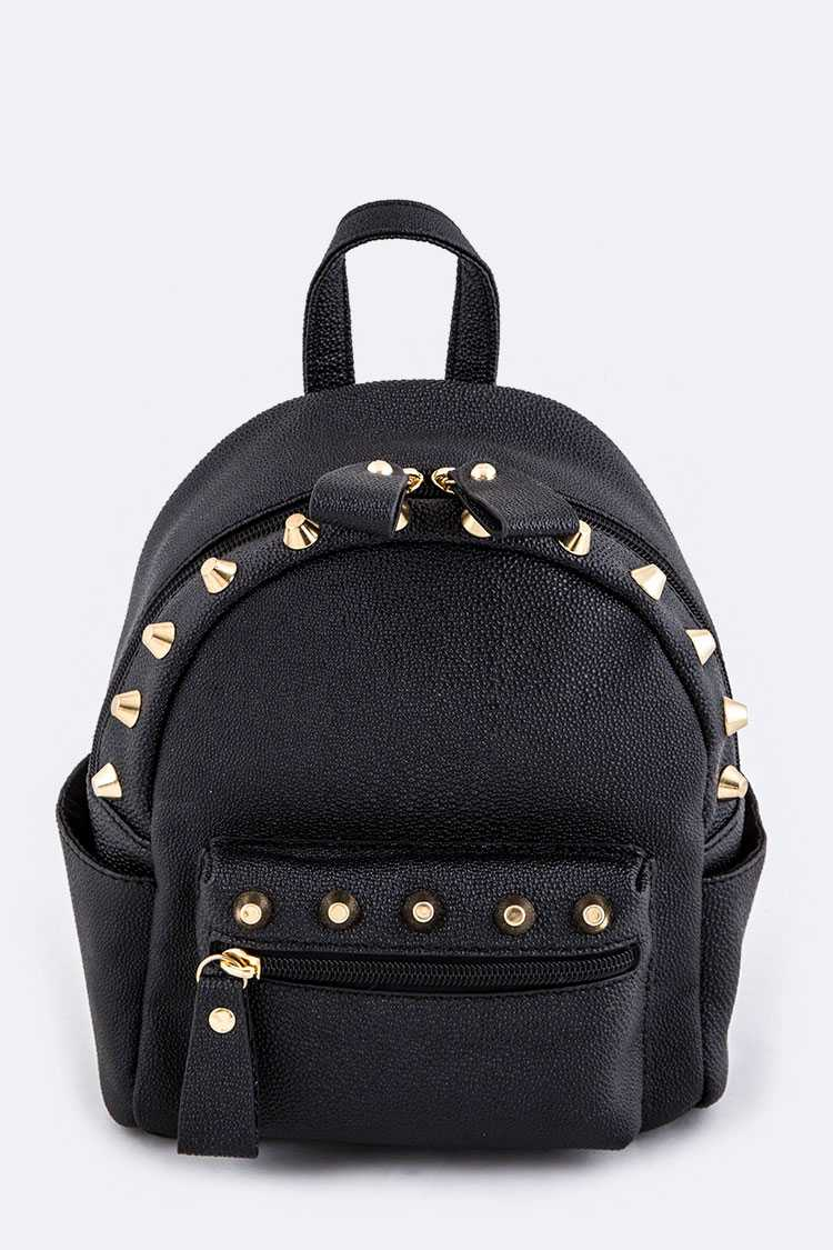 Studded Fashion Backpack