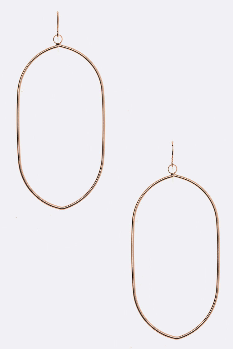 Wired Geo Iconic Earrings
