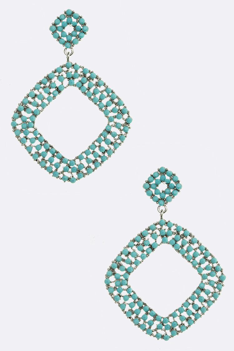 Turquoise Iconic Earrings