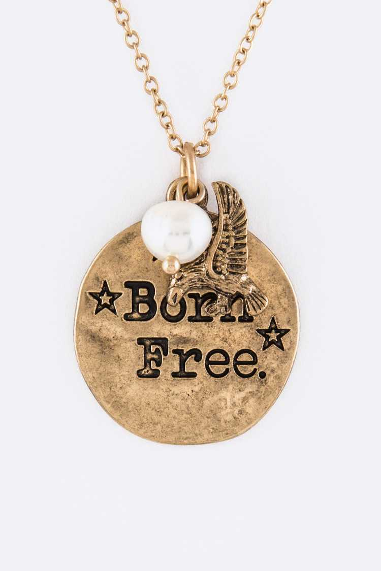 Born Free Mix Charms Necklace Set