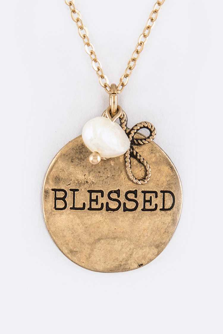 BLESSED Mix Charms Necklace Set